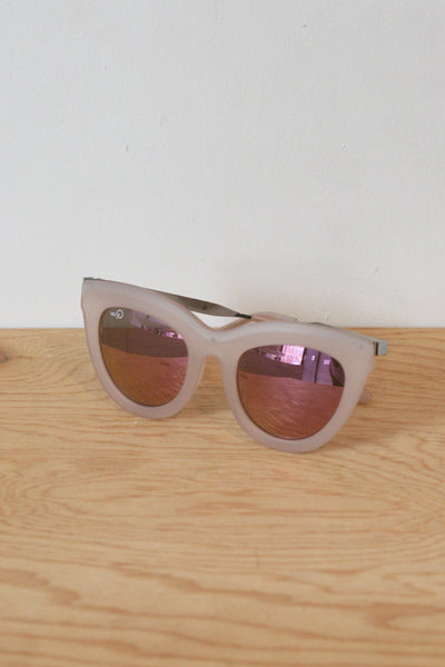 Eclipse Sunglasses Pink/Pink Mirror
