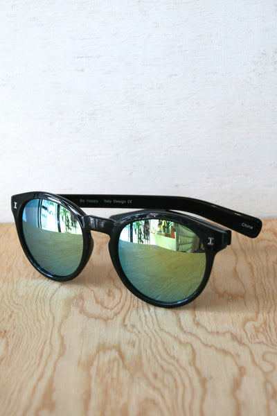 Molly Sunglasses Black/Blue