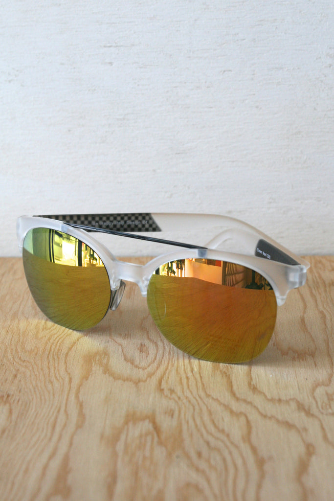 Jake Sunglasses Clear/Yellow