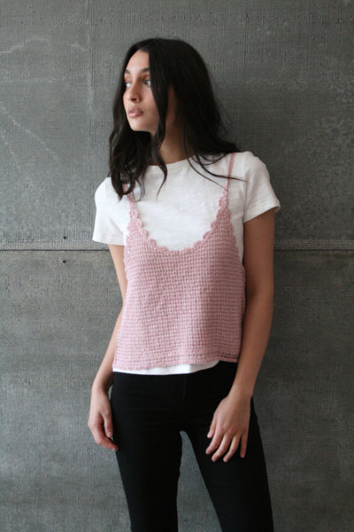 Crochet Layered Tee