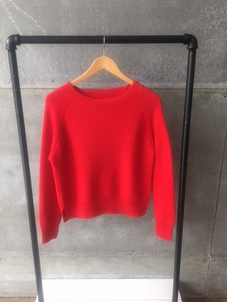 Spring Sweater Red