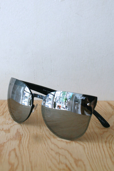 Higher Love Sunglasses Black/Silver