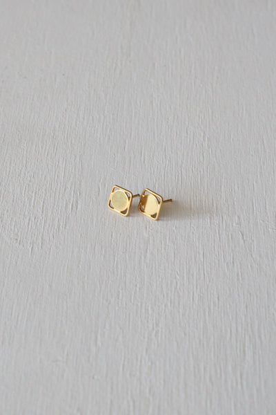 Eclipse Studs Gold