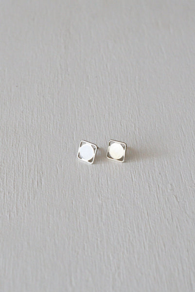 Eclipse Studs Silver