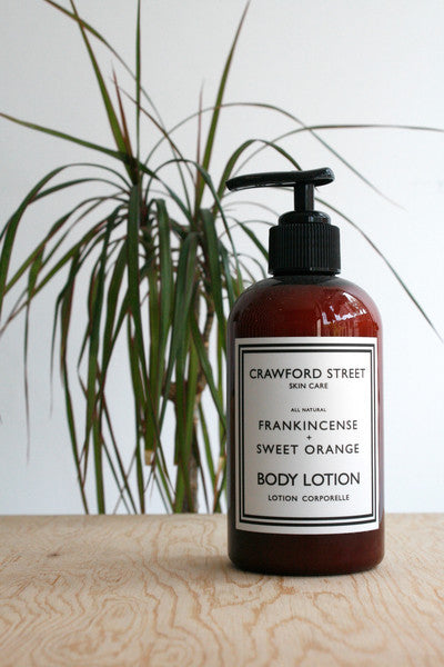 Frankincense + Sweet Orange Body Lotion