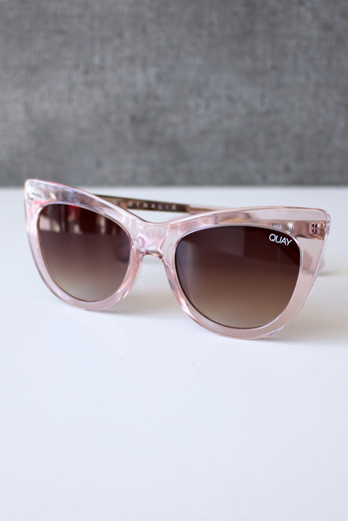 Steal A Kiss Sunglasses Pink/Brown