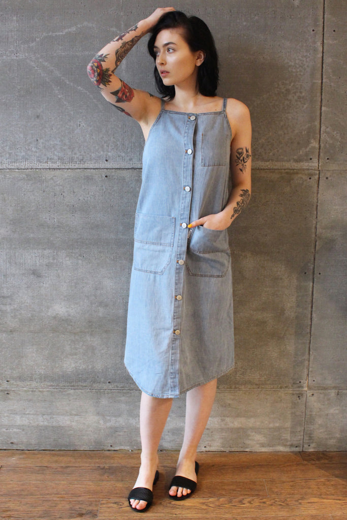 Cheap Monday Threat Dress Denim