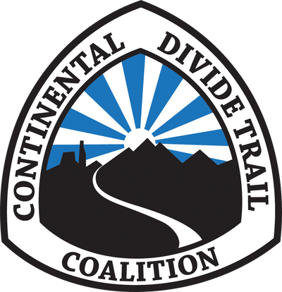 continental divide trail coalition logo with link to powder day pbj bar