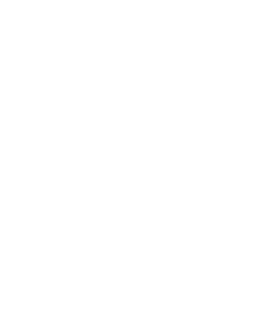 one percent for the planet all white logo