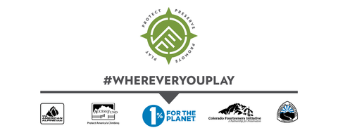 Fourpoints Bar donates 1% of sales to conservation, protect the places you play #whereveryouplay