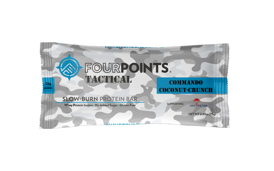 TACTICAL - Commando Coconut Crunch Protein Bar