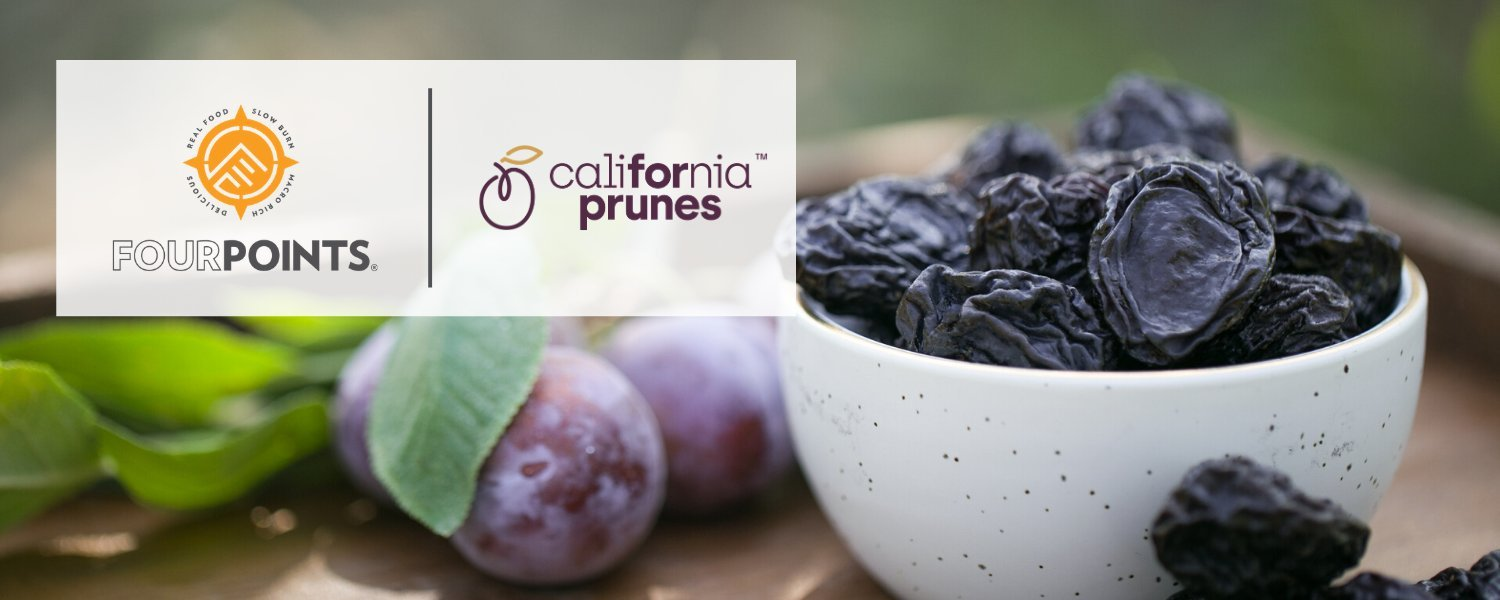 Fourpoints Energy Bar Powered By California Prunes