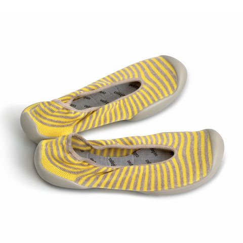 Yellow Grey stripes
