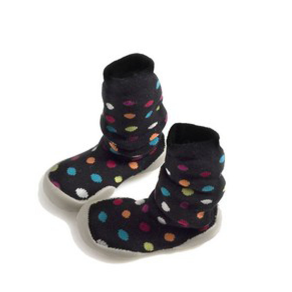 Colorful dots knee high