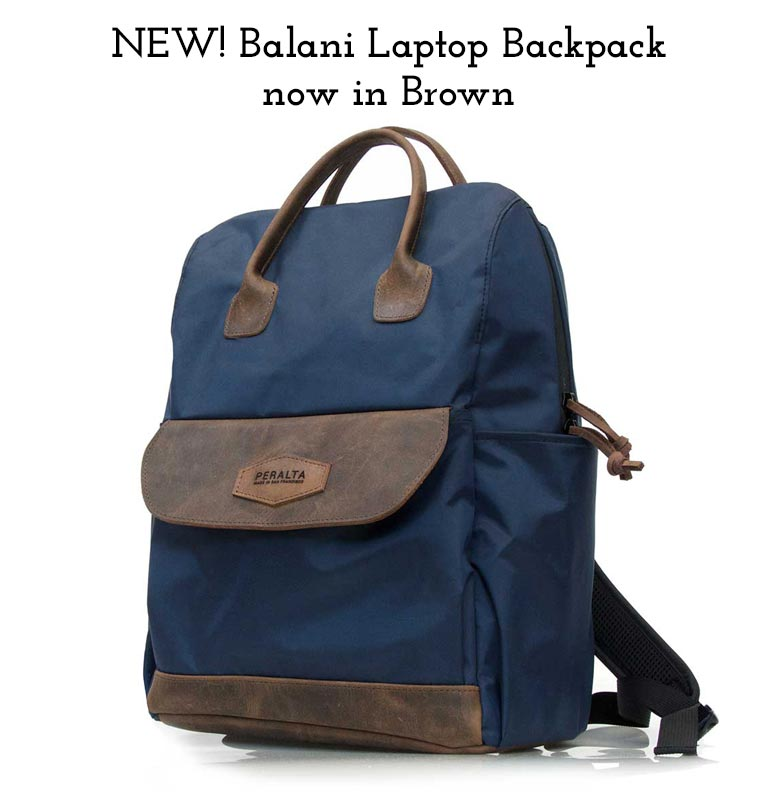 Balani Backpack in Brown