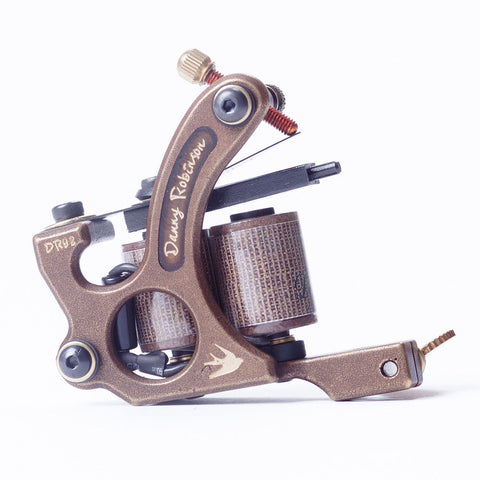 Brass Tattoo Machine for Shader or Liner