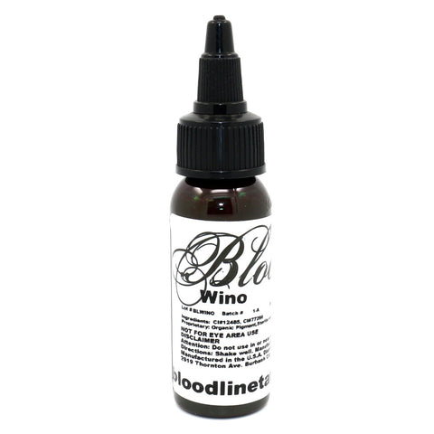 "Bloodline Tattoo Ink ""Wino"" 1 Oz Bottle 100% Authentic"