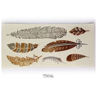 Fashion Tattoo Flash 21*10 Available TSK44-49