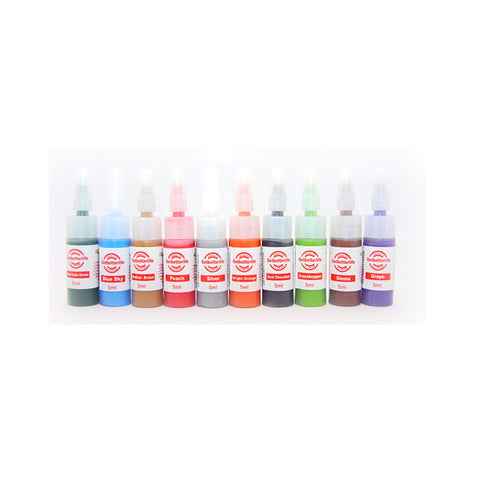 recommended just for practice  10 colors 5ml tattoo ink WS-I052