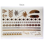 Fashion Tattoo Flash 21*15 Available TSK31-43
