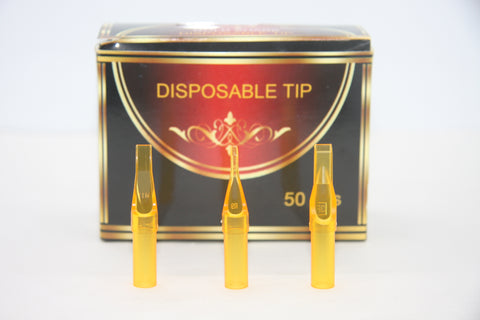 50 pcs disposable diamond tattoo tips  D