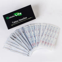 50 PCS FLAT TATTOO NEEDLES F