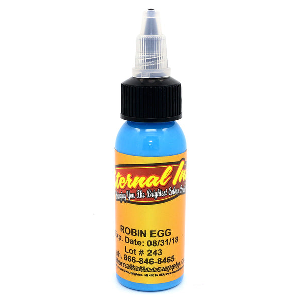"Eternal Tattoo Ink ""Robin Egg"" 1 Oz Bottle 100% Authentic"