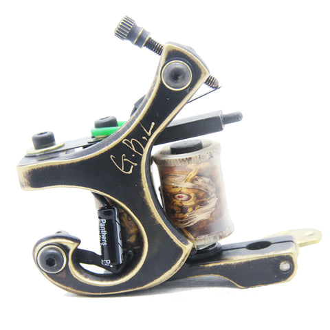 CNC Curved Brass Tattoo Machine for Shader or Liner