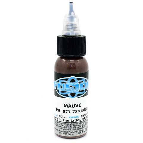 "Fusion Tattoo Ink ""Mauve"" 1 Oz Bottle 100% Authentic"