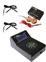 Getbetterlife® Pro New 2nd Generation Tattoo Power Supply New Foot Pedal 2pcs Clip Cord