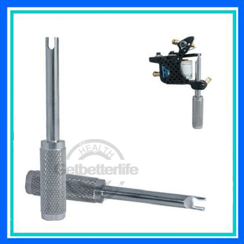 Tattoo machine armature bar alignment adjuster