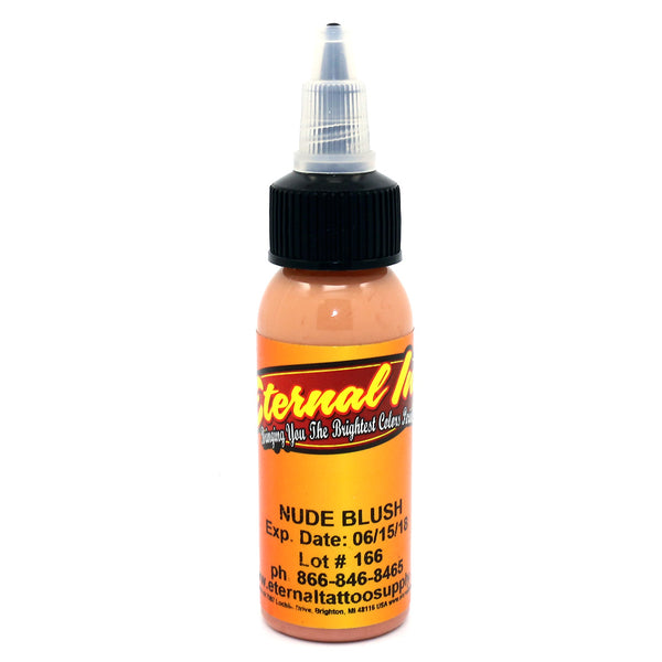 "Eternal Tattoo Ink ""Nude Blush"" 1 Oz Bottle 100% Authentic"