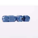 aluminum blue auto lock tattoo grip GAB01