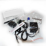 Professional Tattoo Kit with 2 Machine  CE Tattoo Power Supply 8 Color 15ML Inks KC2B1C