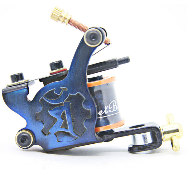 Iron Brown or Blue Tattoo Machine for Shader and Liner