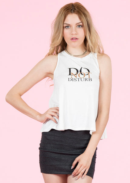 "Camiseta Corta ""Do Not Disturb"""
