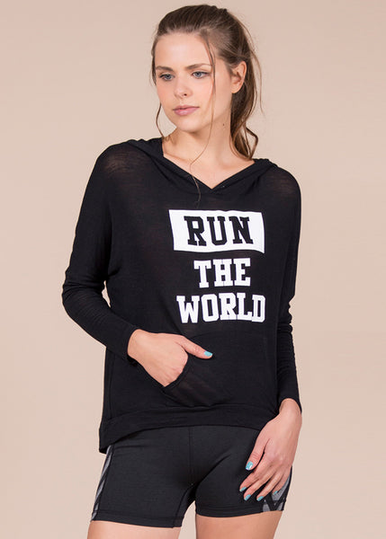 "Sudadera ""Run The World"""