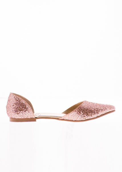 FLAT D'ORSEY POINTY GLITTER