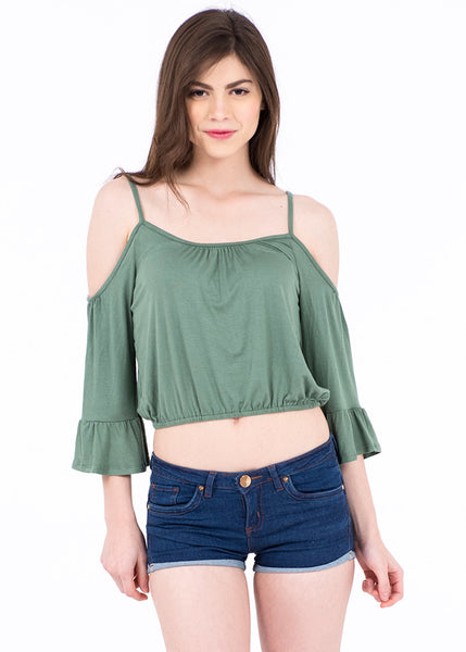 BLUSA COLD SHOULDER