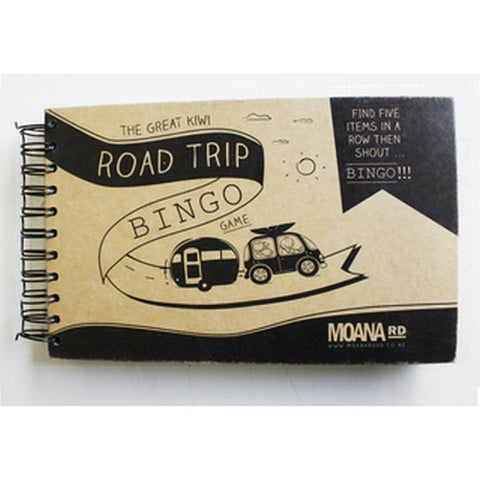Moana Road great kiwi road trip bingo - Doodlefish