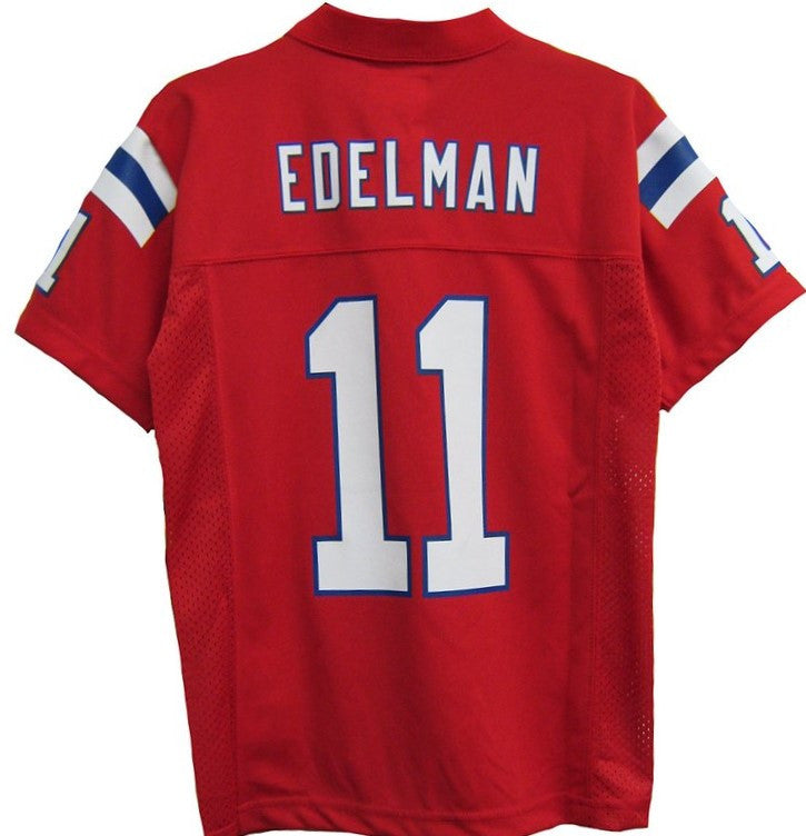 new style 179d7 0f09f New England Patriots Julian Edelman #11 NFL Red Toddler Alternate Jersey
