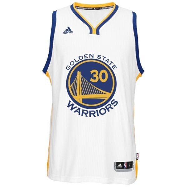 detailed look 13ed7 dcb3e Golden State Warriors Stephen Curry #30 White Kids Home Jersey