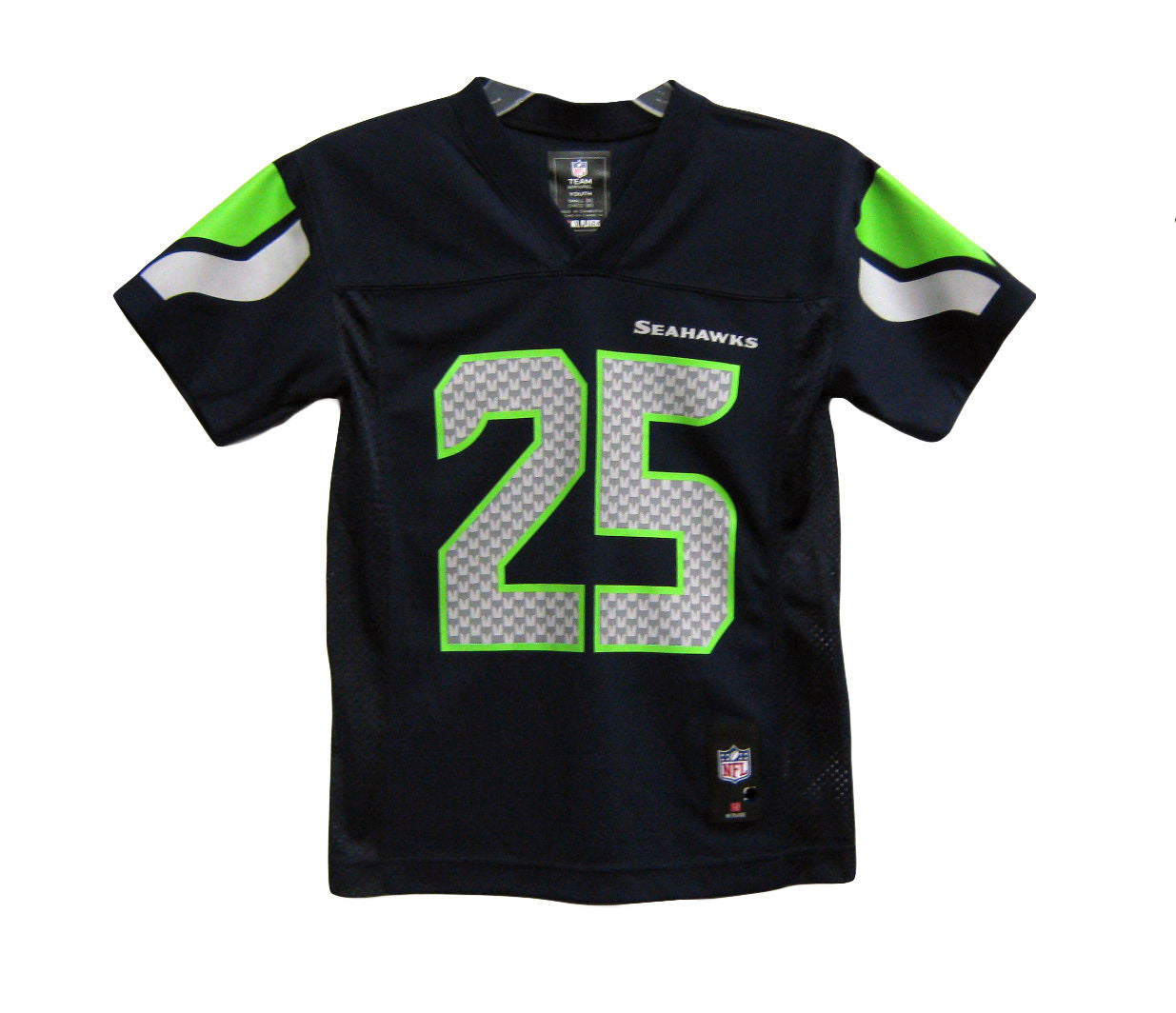 newest 7c817 b0c36 Seattle Seahawks Richard Sherman #25 NFL Navy Toddler Home ...