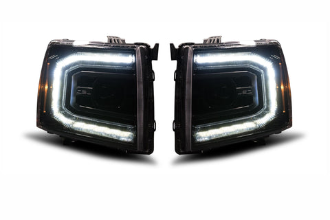 Chevrolet Silverado (07-13): XB LED Headlights (PRE ORDER)