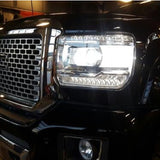 2014+ Sierra Clear Headlight Markers