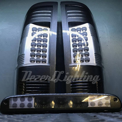 99-16 Ford Superduty Colormatched Tail Lights