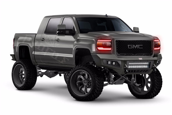 14-15 GMC Sierra: Profile Pixel DRL Boards