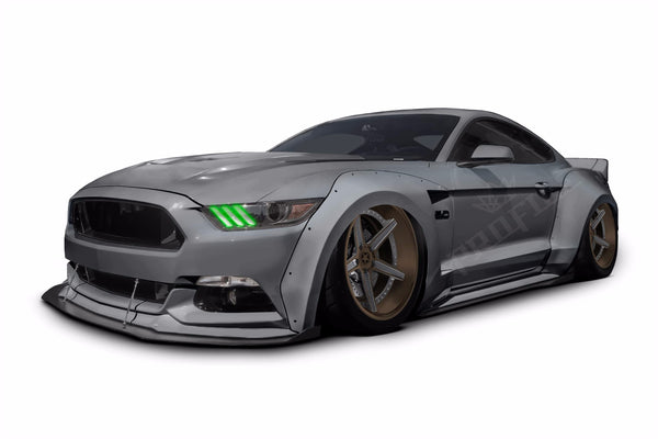 2015+ Ford Mustang: Profile Pixel DRL Boards
