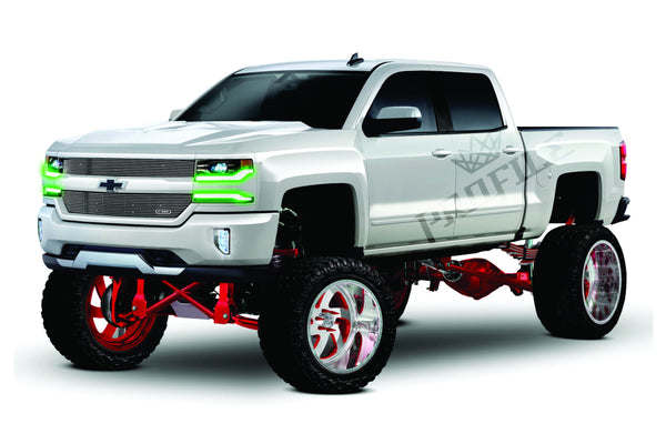 2016+ Chevrolet Silverado: Profile Pixel DRL Boards