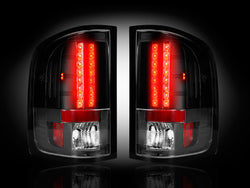 07-13 GMC Sierra Smoked LED Tail Lights